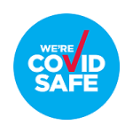 COVID Safe Badge Small